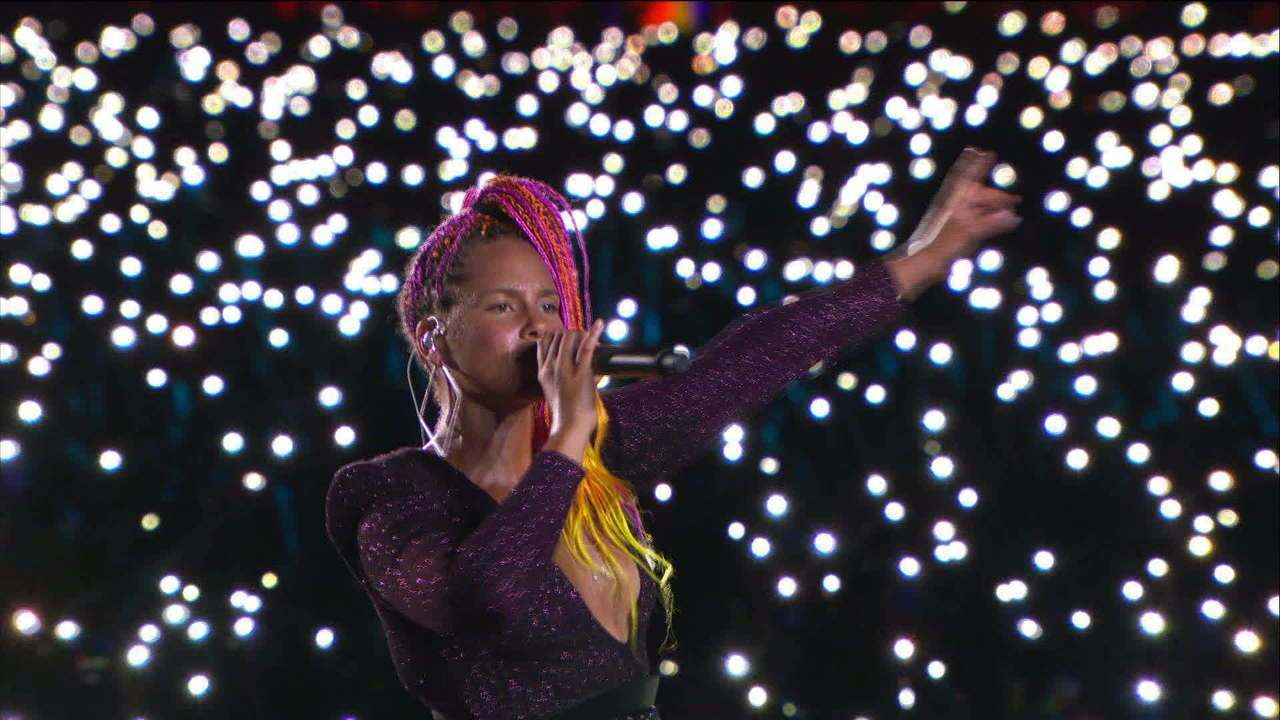 Alicia Keys encanta o público no Rock in Rio