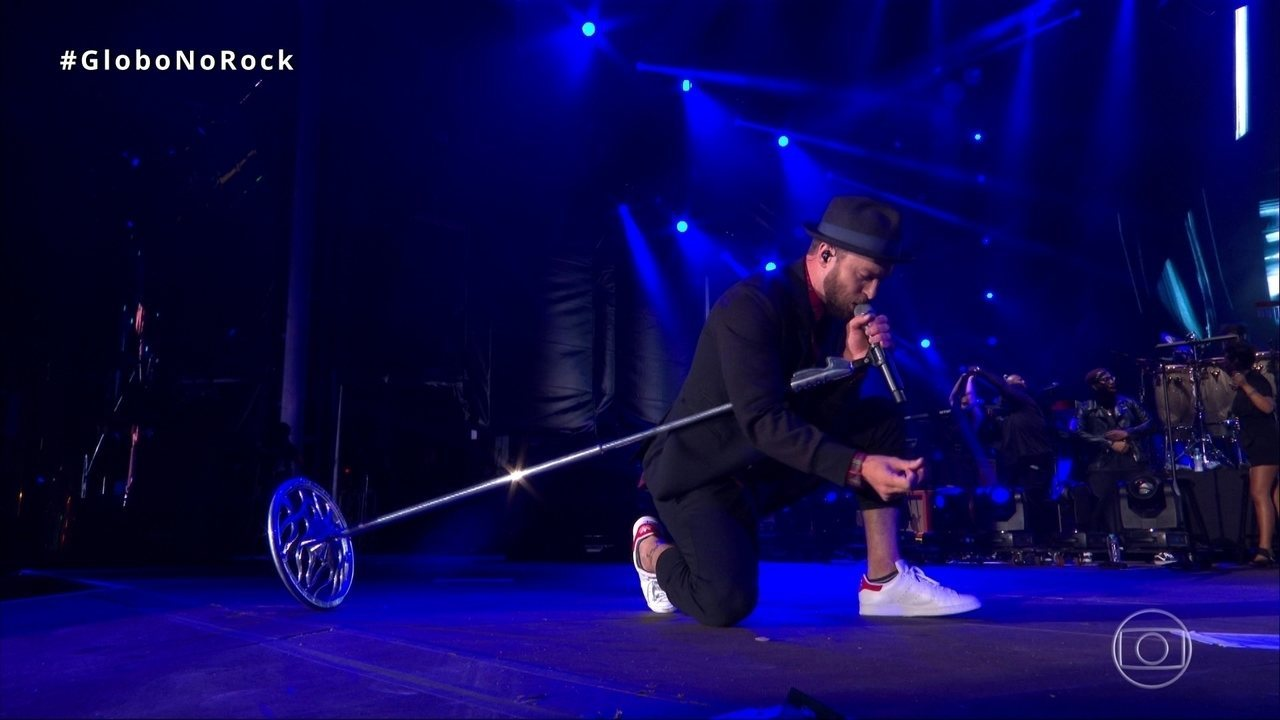 Justin Timberlake canta `Future Sex` no Rock in Rio