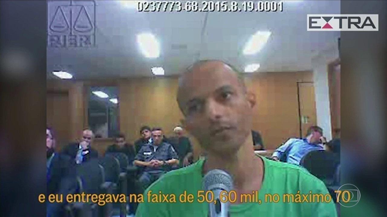 Traficante diz ter pago mais de R$ 70 mil por semana em propina a PM do Bope