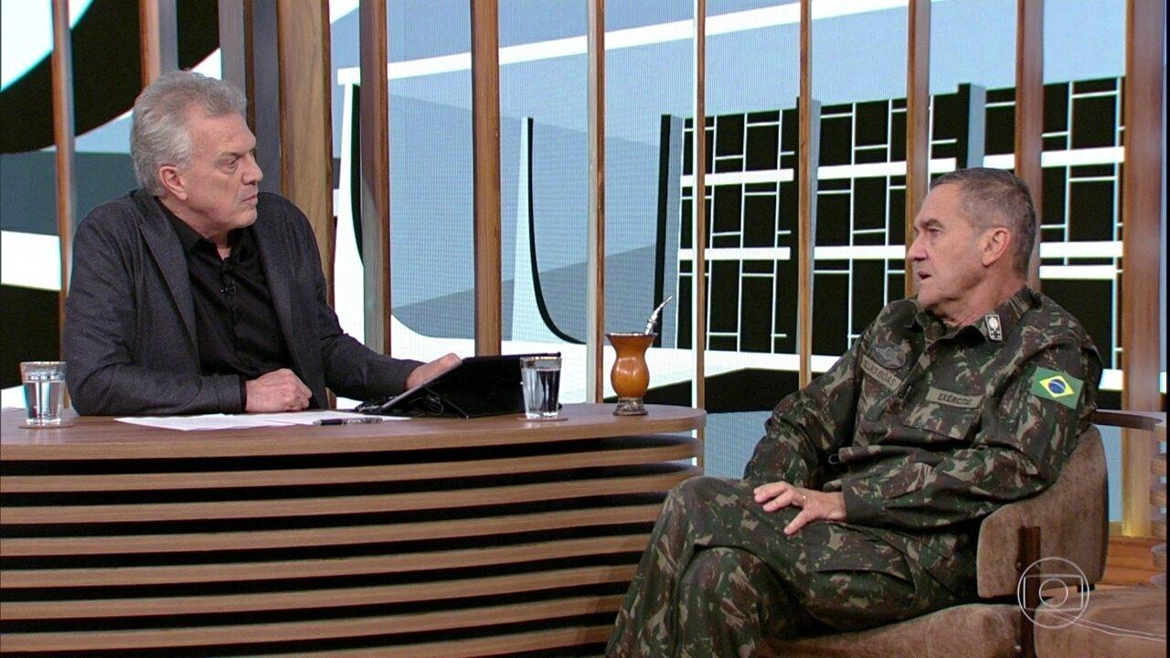 Eduardo Villas Bôas fala sobre inclusão de gays e transexuais no Exército