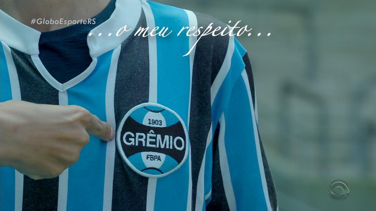 Renato completa um ano no Grêmio e escreve carta aos gremistas