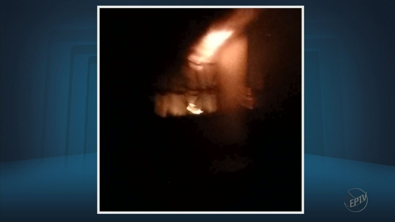 Incêndio atinge auditório da Universidade Federal de Itajubá, a Unifei