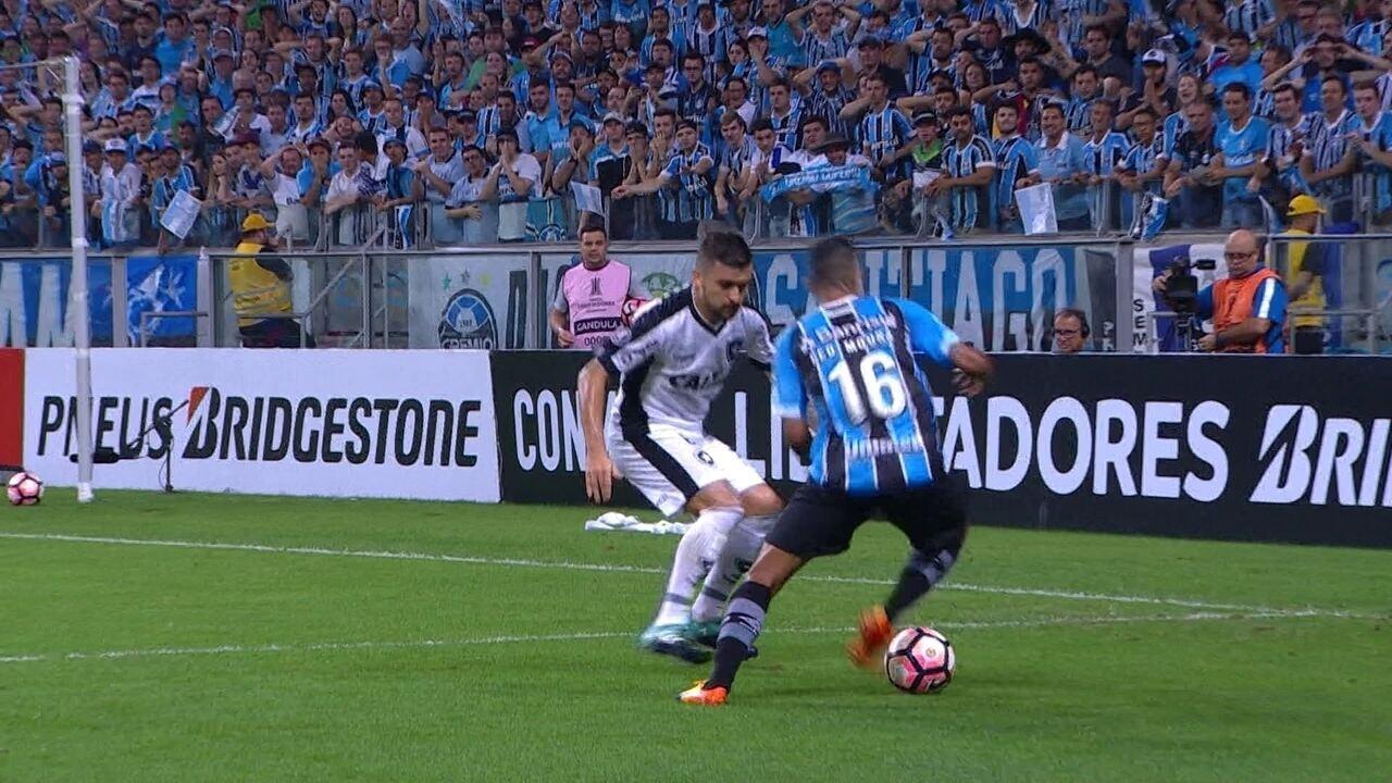 Melhores momentos de Grêmio 1 x 0 Botafogo pelas quartas de final da Libertadores
