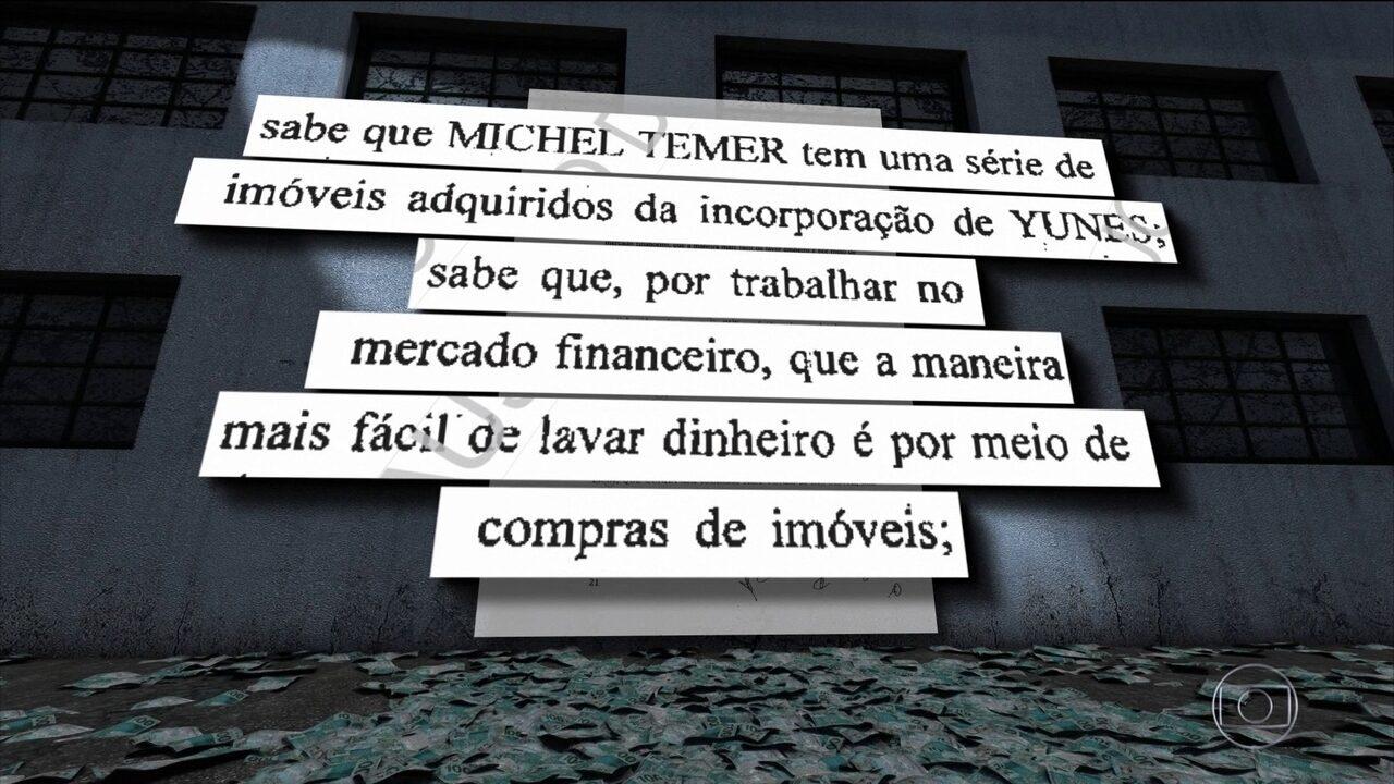 Funaro diz em delação que Cunha distribuiu propina para Temer