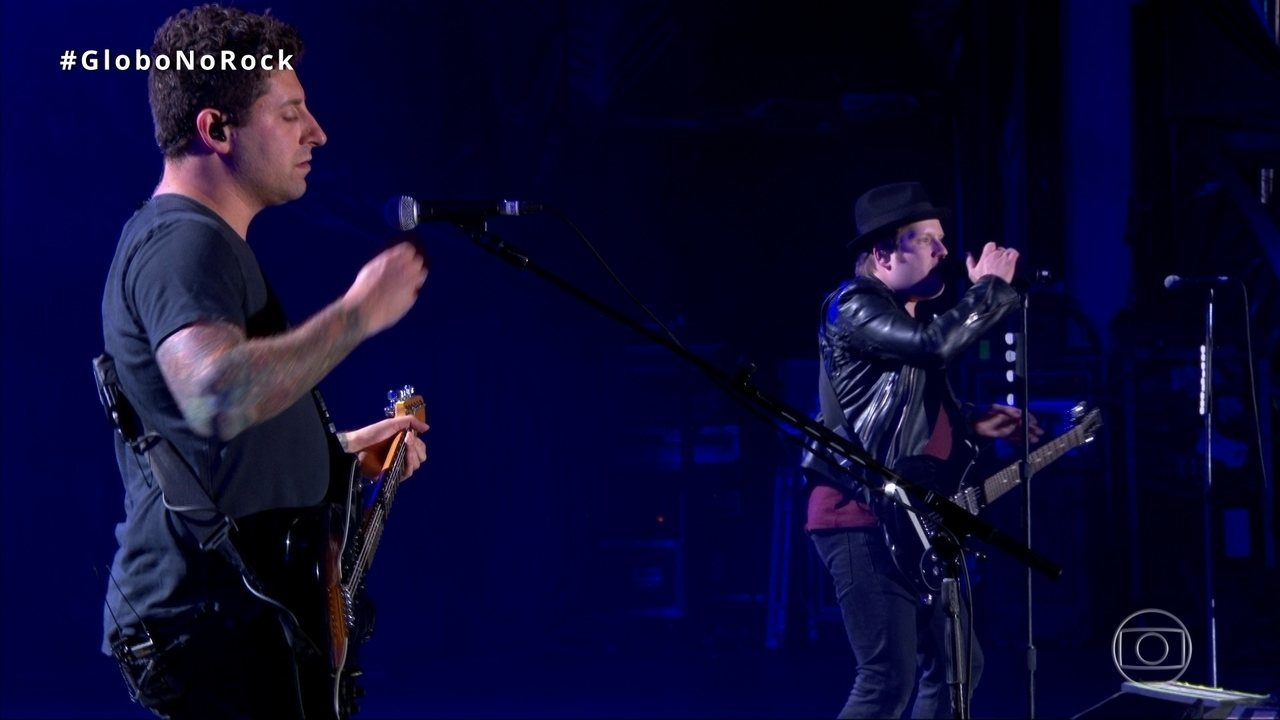 Fall Out Boy canta 'Irresistible' no Palco Mundo do Rock in Rio