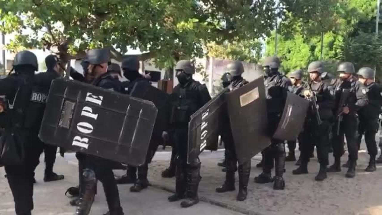 Forças de Segurança voltam a ocupar a Casa de Custódia de Teresi