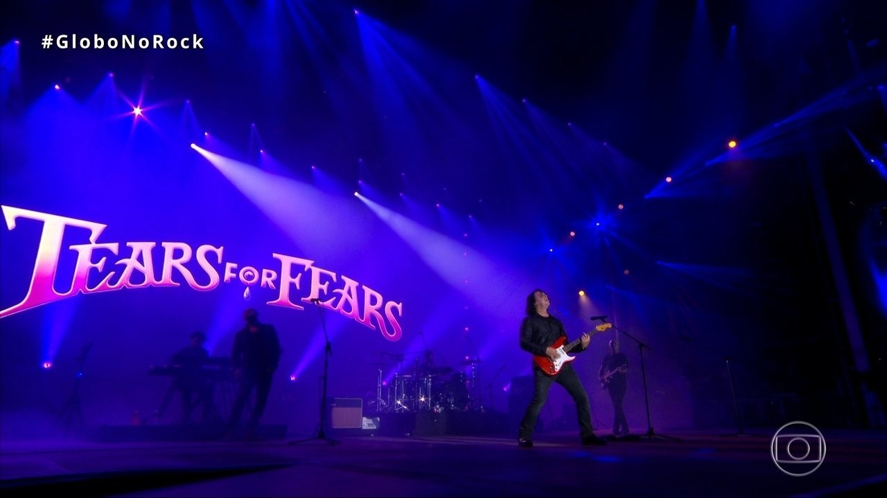 Tears For Fears canta 'Secret world' no Palco Mundo do Rock in Rio