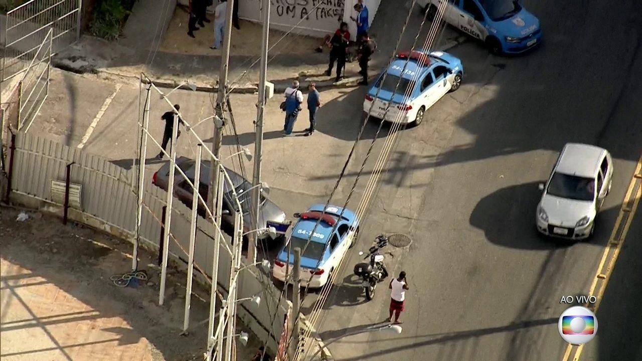 PMs entram em confronto com bandidos que fugiam Rocinha por um acesso ao Alto da Boa Vista