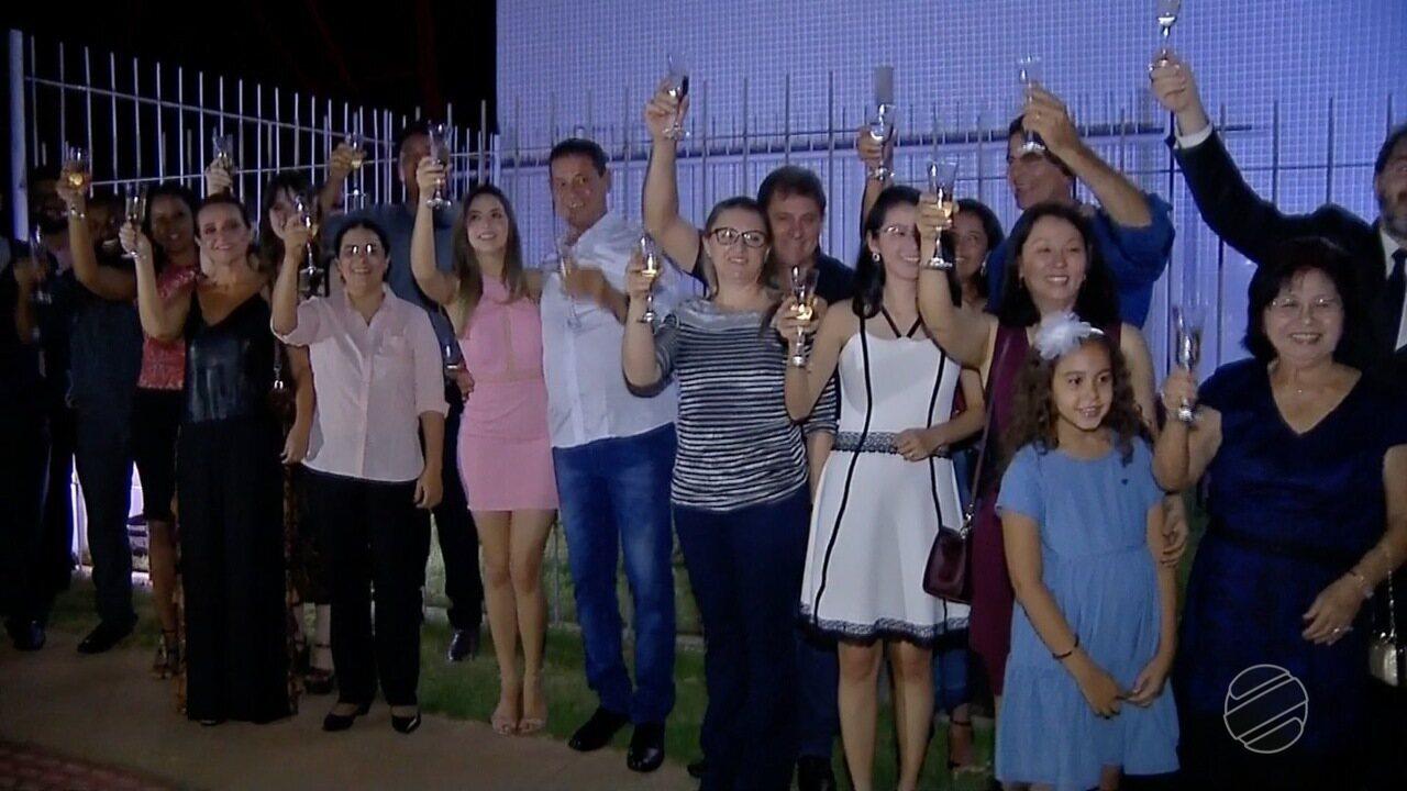 Festa de lançamento da nova marca da TV Centro América em Rondonópolis
