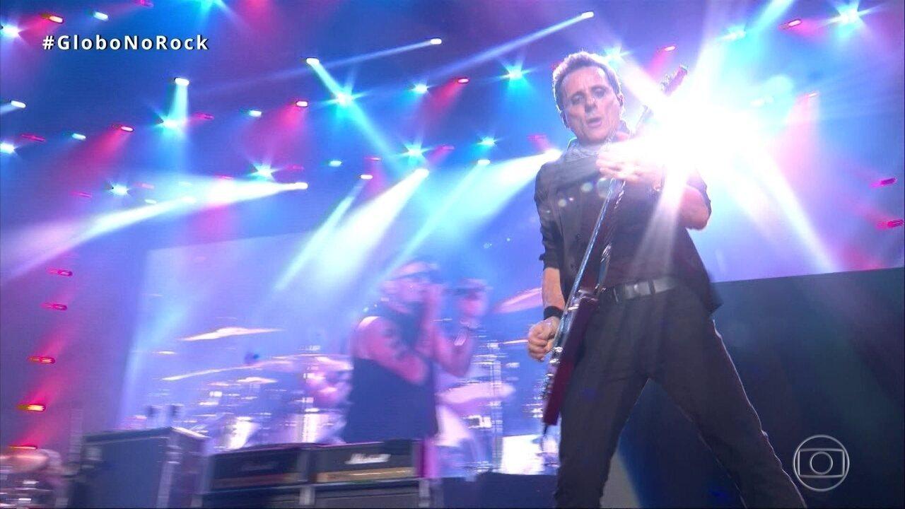 Titãs canta música 'Diversão' no Palco Mundo do Rock in Rio