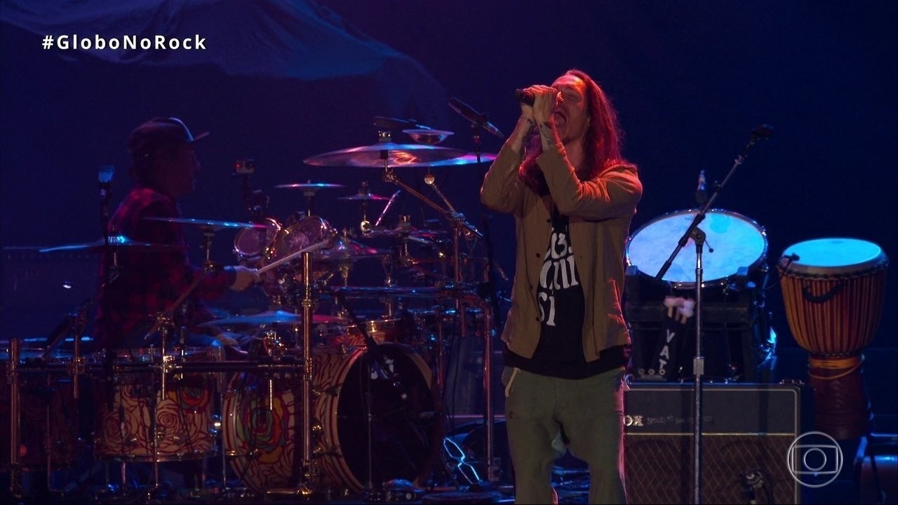 Incubus abre show do Rock in Rio com 'Glitterbomb'
