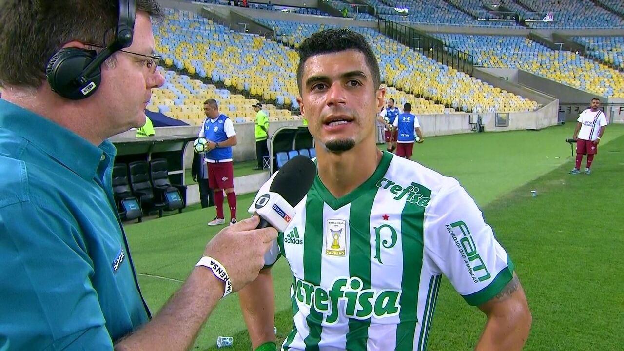 Egídio revela satisfação em volta por cima com gol marcado contra o Fluminense