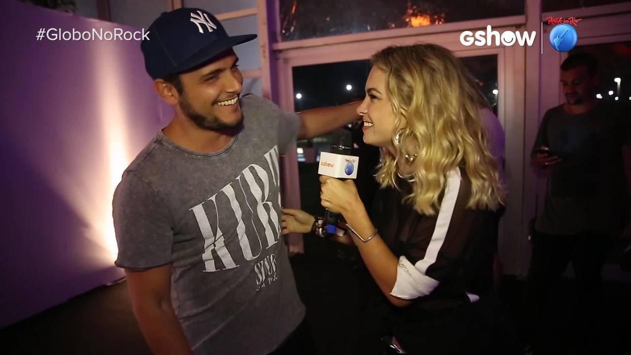 Lua Blanco entrevistou Bruno Gissoni