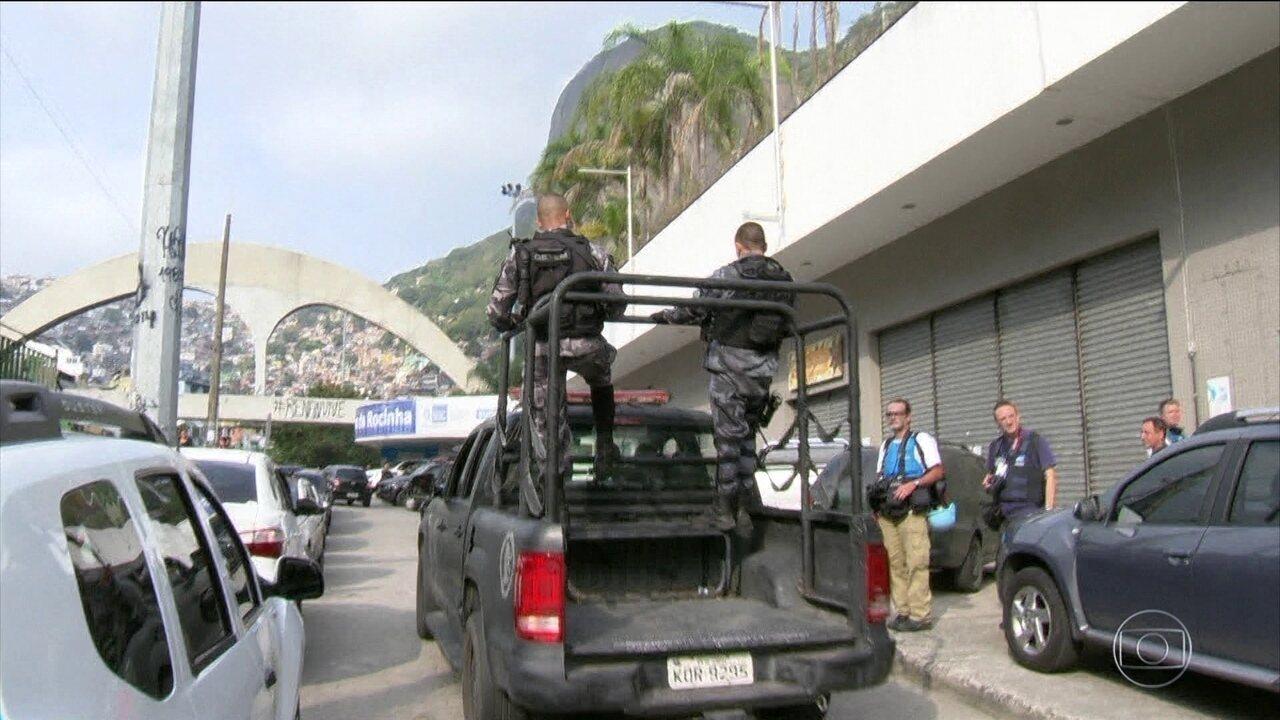 Rio tem madrugada de tensão com tiroteios na Zona Norte e Rocinha ocupada
