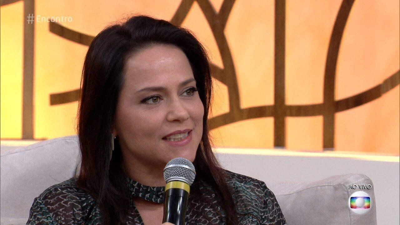 Viviane Pasmanter comenta beleza de Germana, sua personagem em 'Novo Mundo'