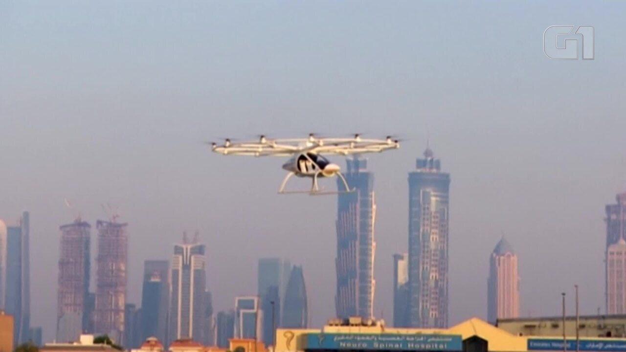 Dubai testa táxi-drone