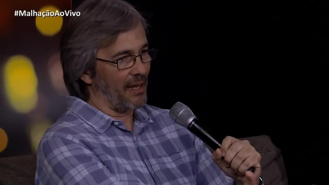 Paulo Silvestrini comenta cena das five no metrô