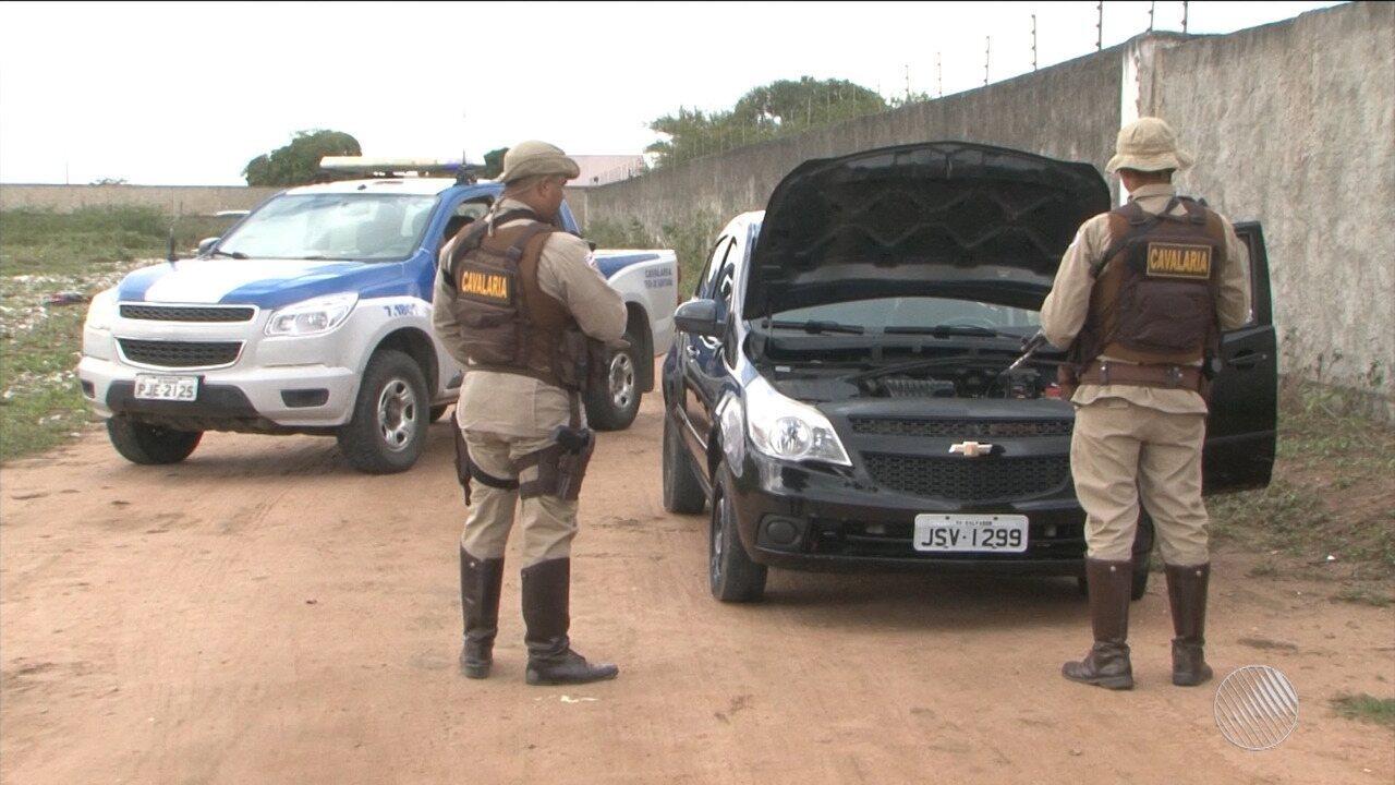 Carro de motorista do Uber morto em Feira de Santana é encontrado pela PM