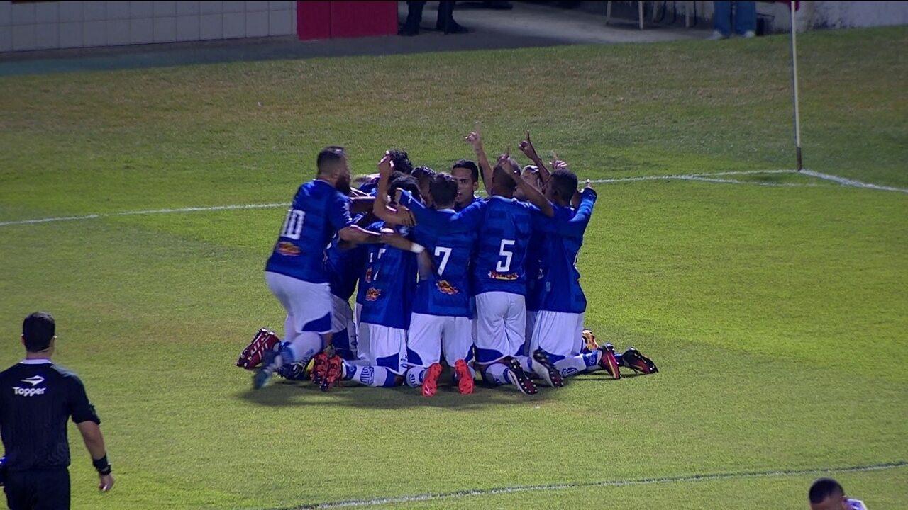 Veja o gol da vitória do Goytacaz por 1 a 0 sobre o America, nesta terça-feira