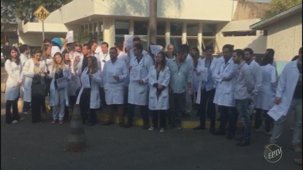 Médicos residentes iniciam greve no Hospital Ouro Verde, em Campinas