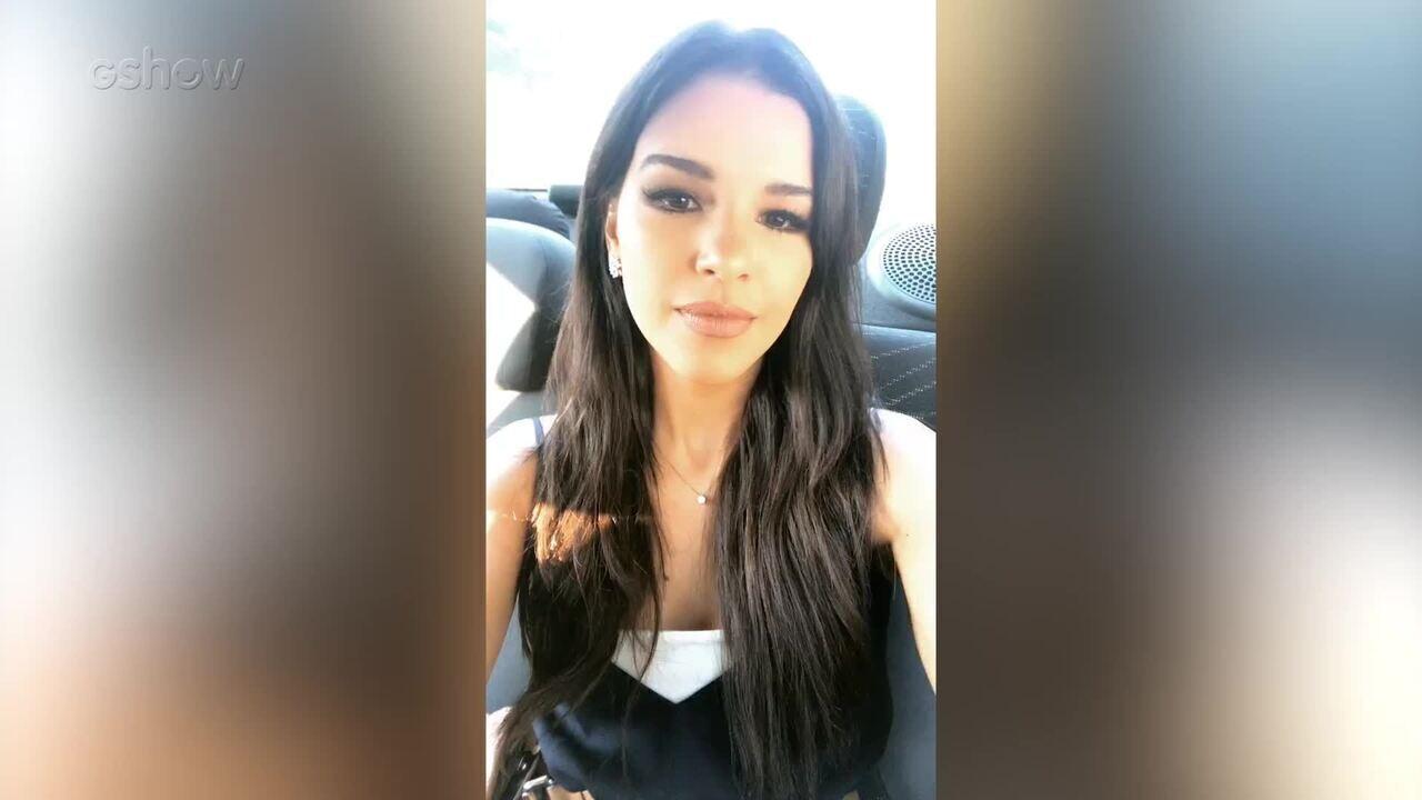 Mariana Rios faz convite para o 'The Voice Brasil Live'