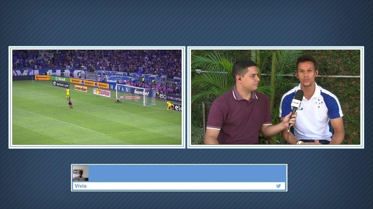 50e1adcda4 Henrique aponta confiança do Cruzeiro nos pênaltis