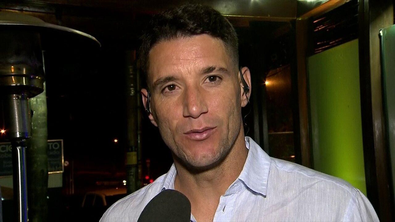 Thiago Neves afirma que a chegada dele no Cruzeiro ajudou a unir o time