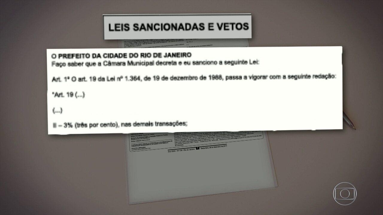 Mudanças no IPTU são publicadas no Diário Oficial