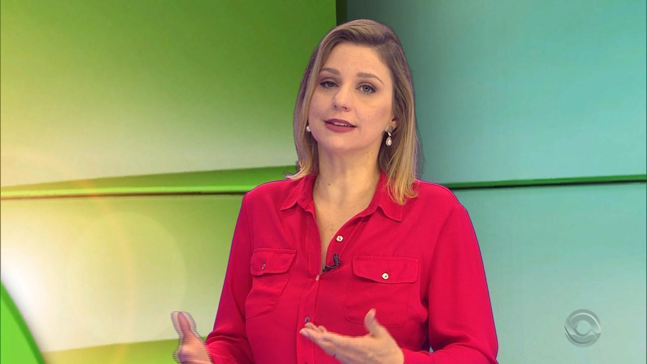 Comentarista Gisele Loeblein fala sobre a decisão do RS de eliminar a vacinação contra febre aftosa