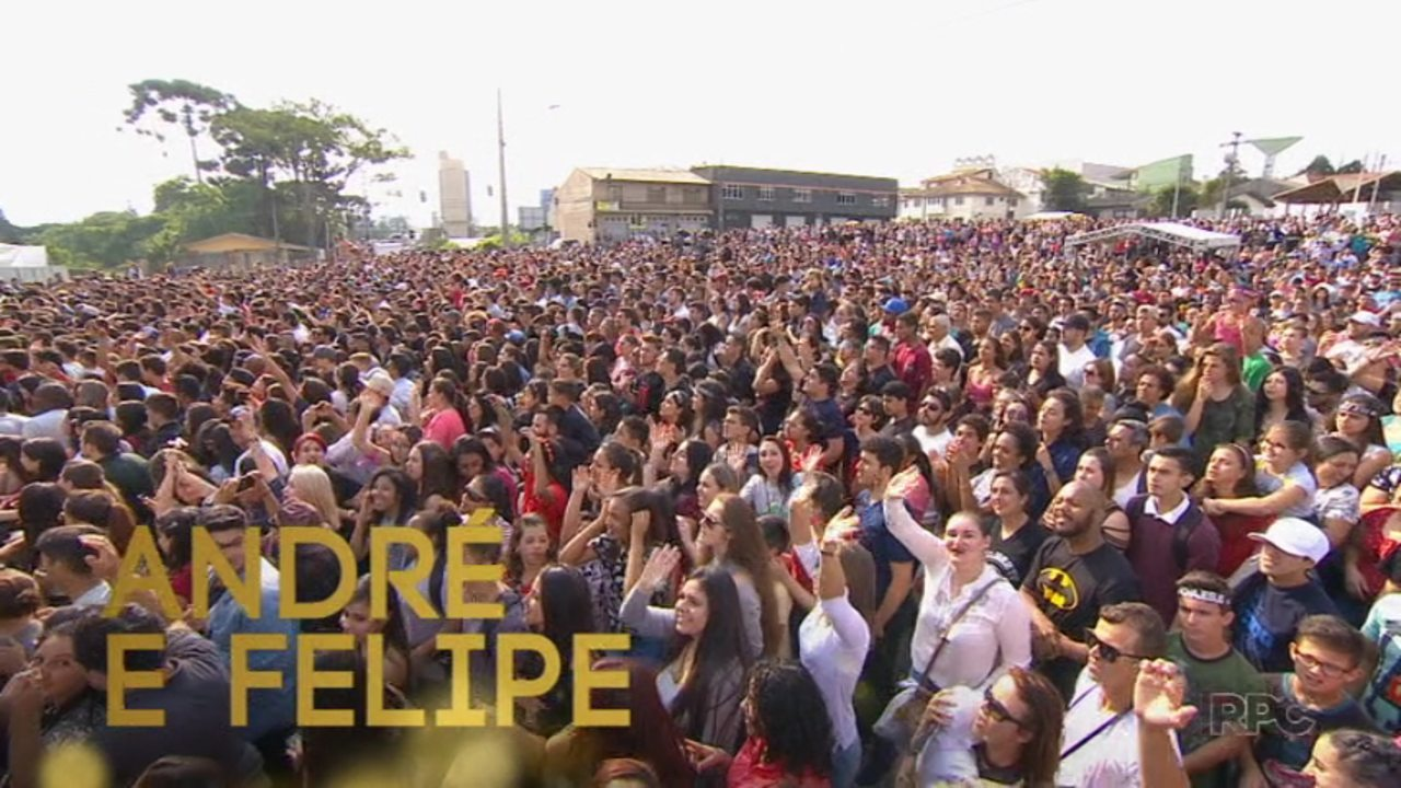 Festival Promessas: assista ao show de André e Felipe na íntegra