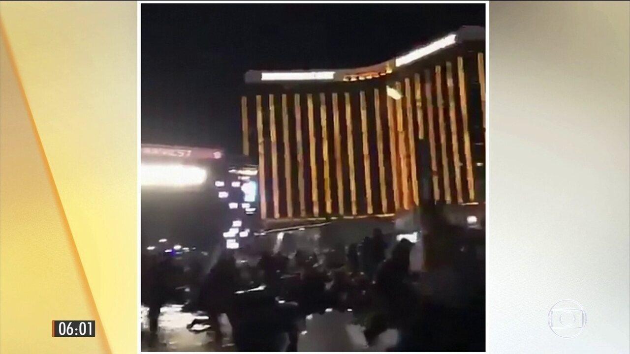 Tiroteio mata 20 pessoas e deixa mais de 100 feridos durante show em Las Vegas