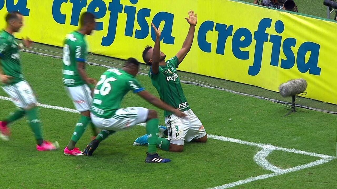 Veja os três gols marcados por Borja no Campeonato Brasileiro