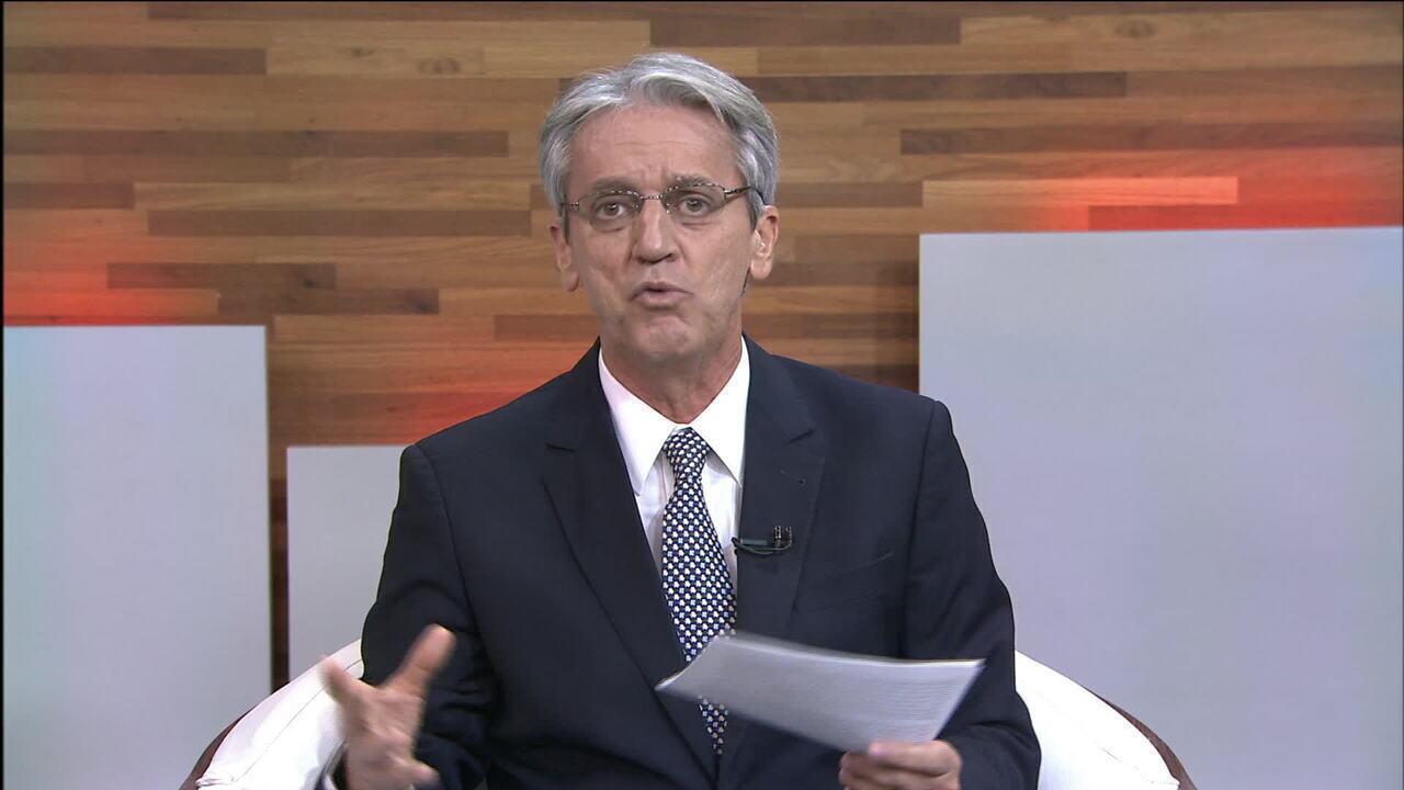 'Há um clima de confronto entre os poderes', diz Valdo Cruz sobre afastamento de Aécio
