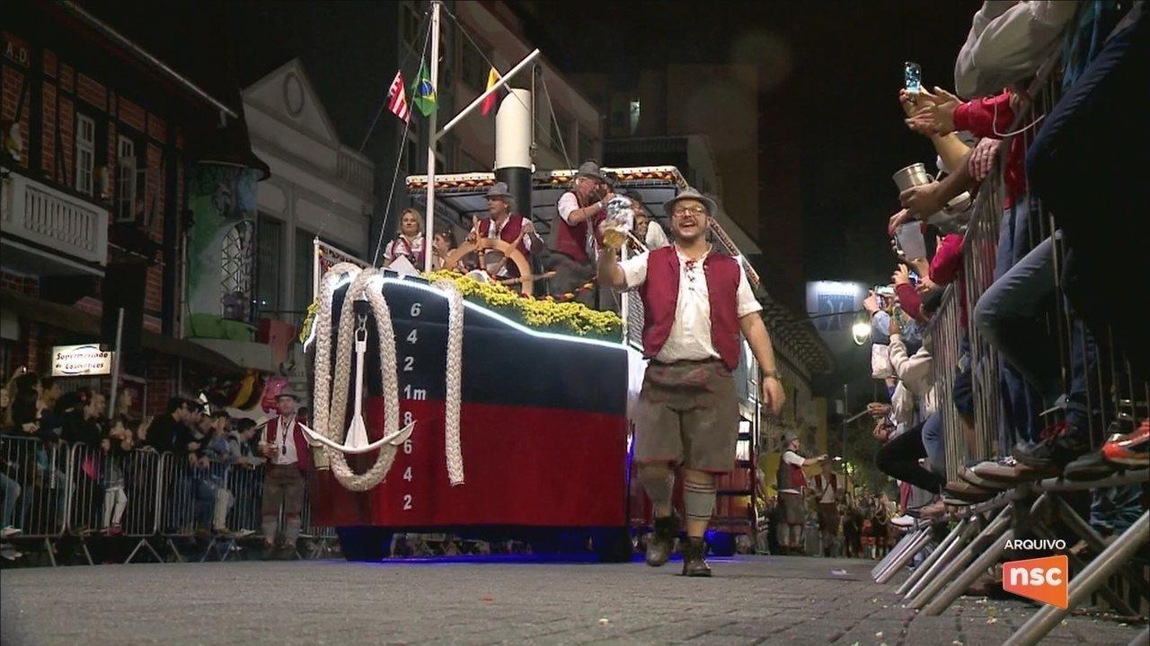 34ª Oktoberfest de Blumenau começa nesta quarta-feira (4)