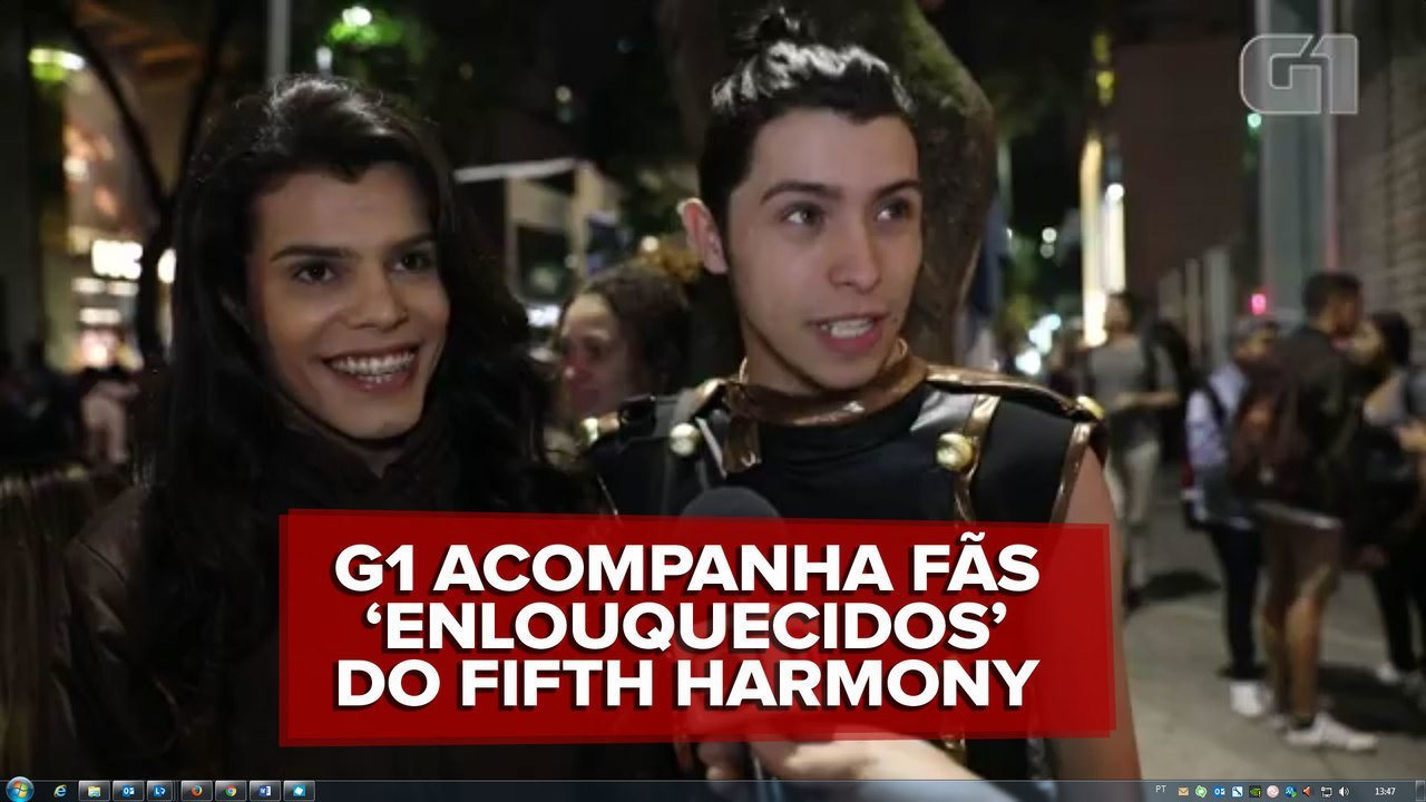 Fãs do Fifth Harmony fazem encontro 'caótico' com grupo em São Paulo