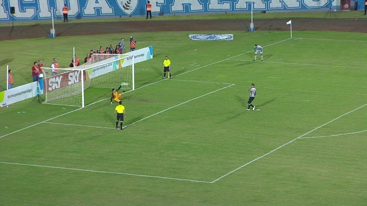 Os pênaltis de Londrina (4) 0 x 0 (2) Atlético-MG pela final da Copa da Primeira Liga 2017