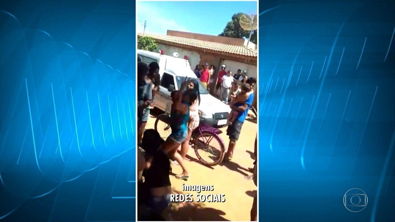 Feridos em tragédia em Janaúba são levados para hospital, em Belo Horizonte