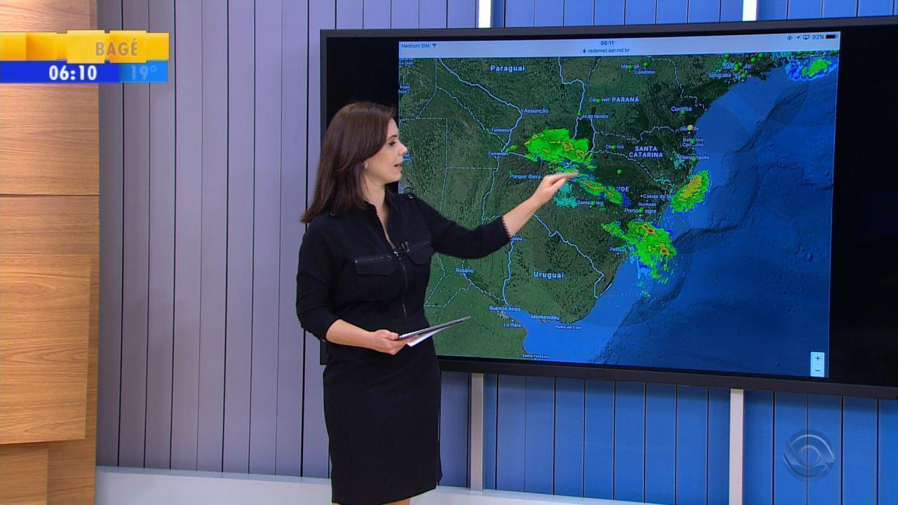 Tempo: RS tem risco de temporal nesta sexta-feira (6)