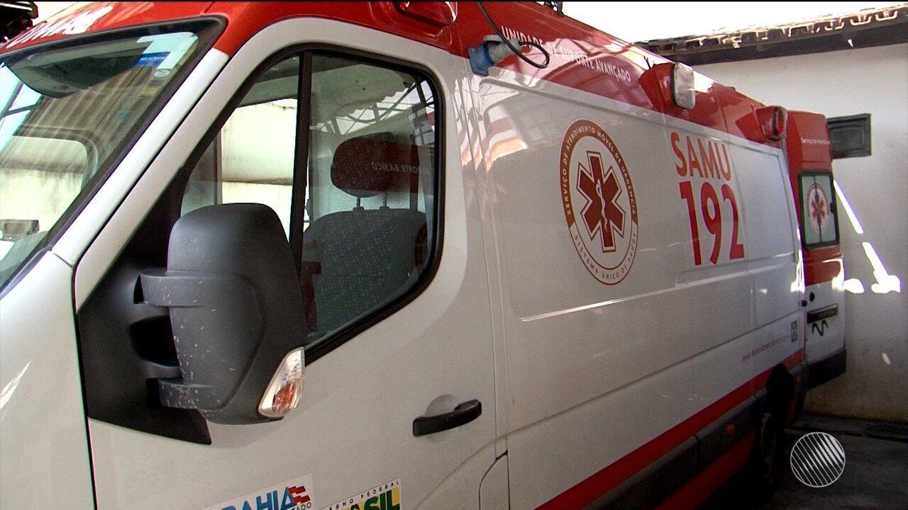 83e741b57e Funcionários da Samu de Ilhéus paralisam as atividades