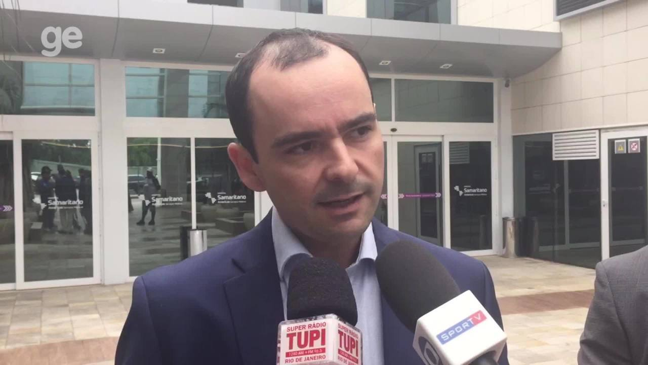 Médico Raphael Rocha explica cirurgia de Roger, do Botafogo
