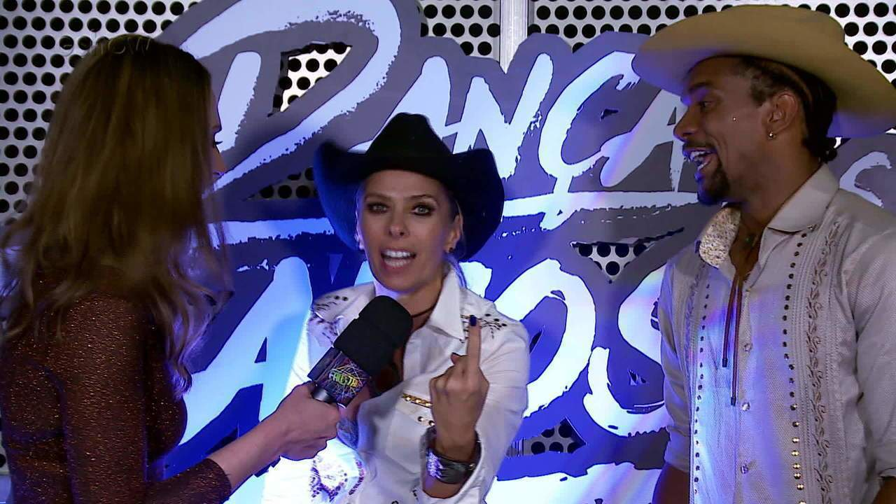 Adriane Galisteu e Cris Vianna falam sobre a repescagem no 'Dança dos Famosos'