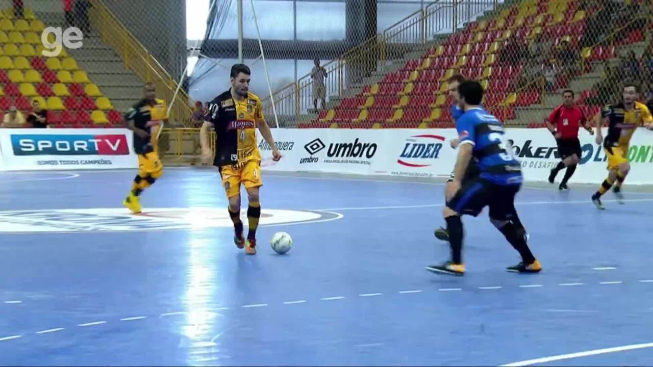 Top 5  Gols da semana da Liga Nacional de Futsal 4ac337566f1a4