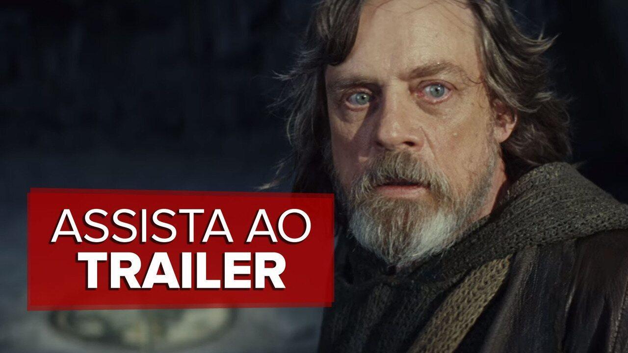 'Star Wars: Os últimos Jedi' ganha primeiro trailer; veja