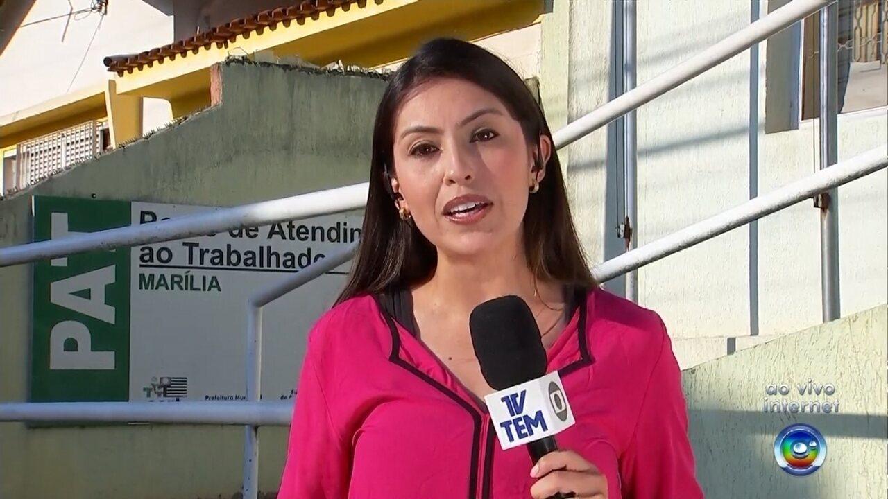 Veja as oportunidades de emprego oferecidas em Marília e região