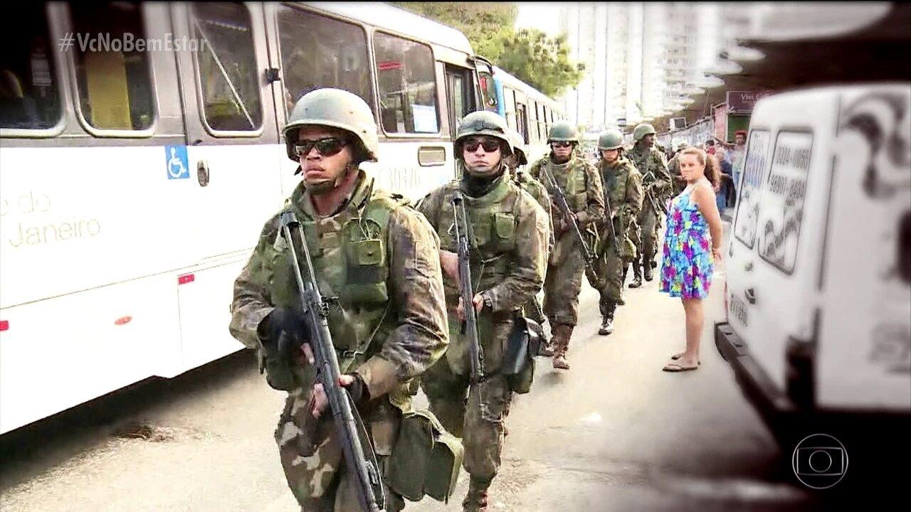 Violência afeta saúde física e emocional dos moradores do Rio