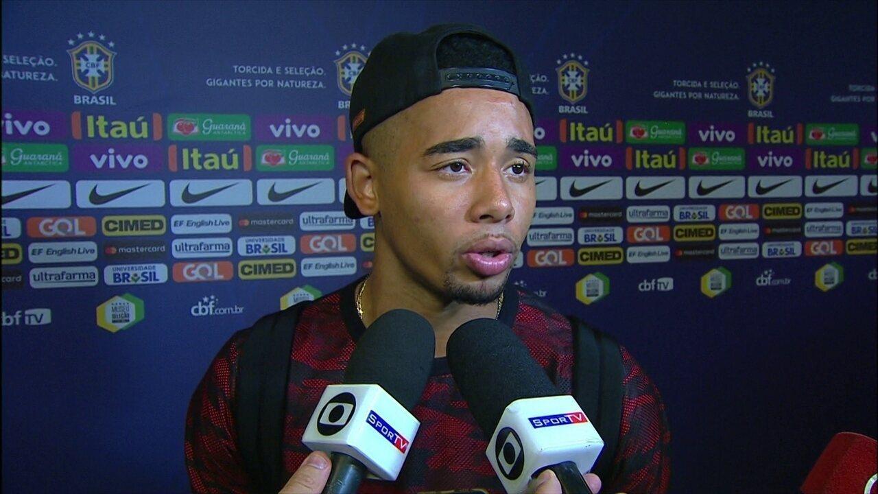 Gabriel Jesus fala sobre partida contra o Chile pelas Eliminatórias da Copa