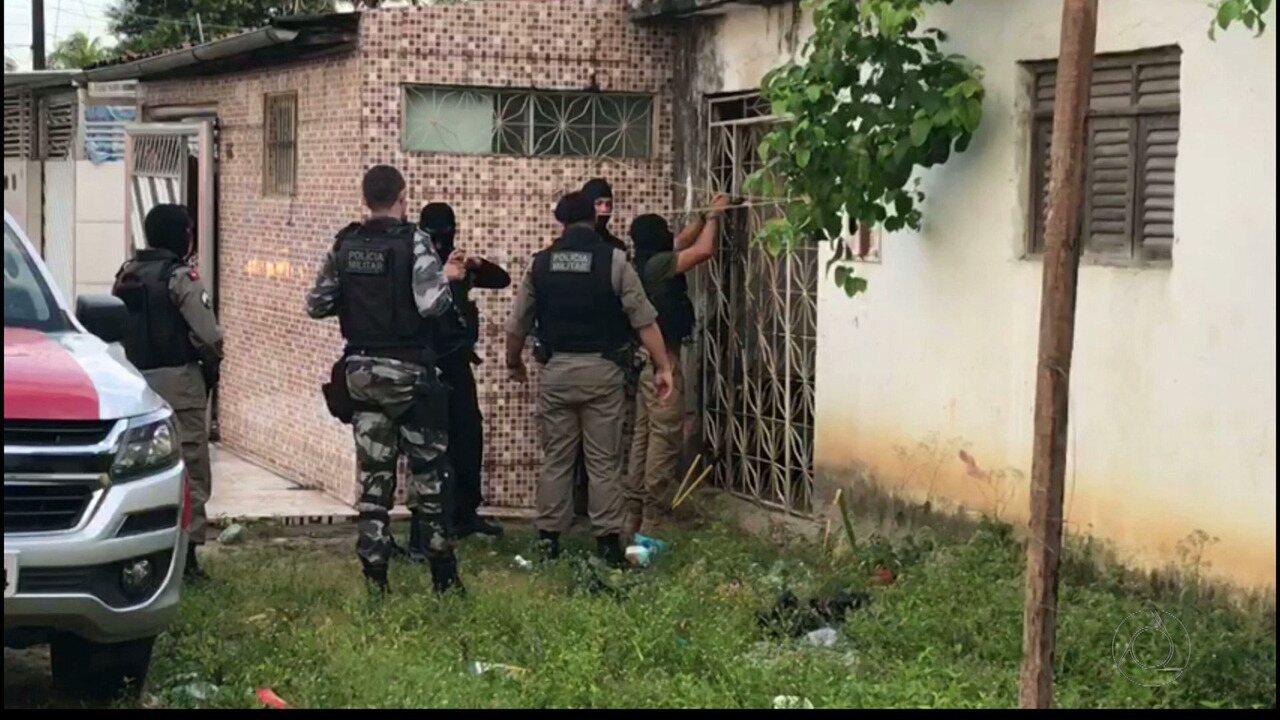 Operação Controle das Polícias Militar e Civil desarticula quadrilha em Bayeux