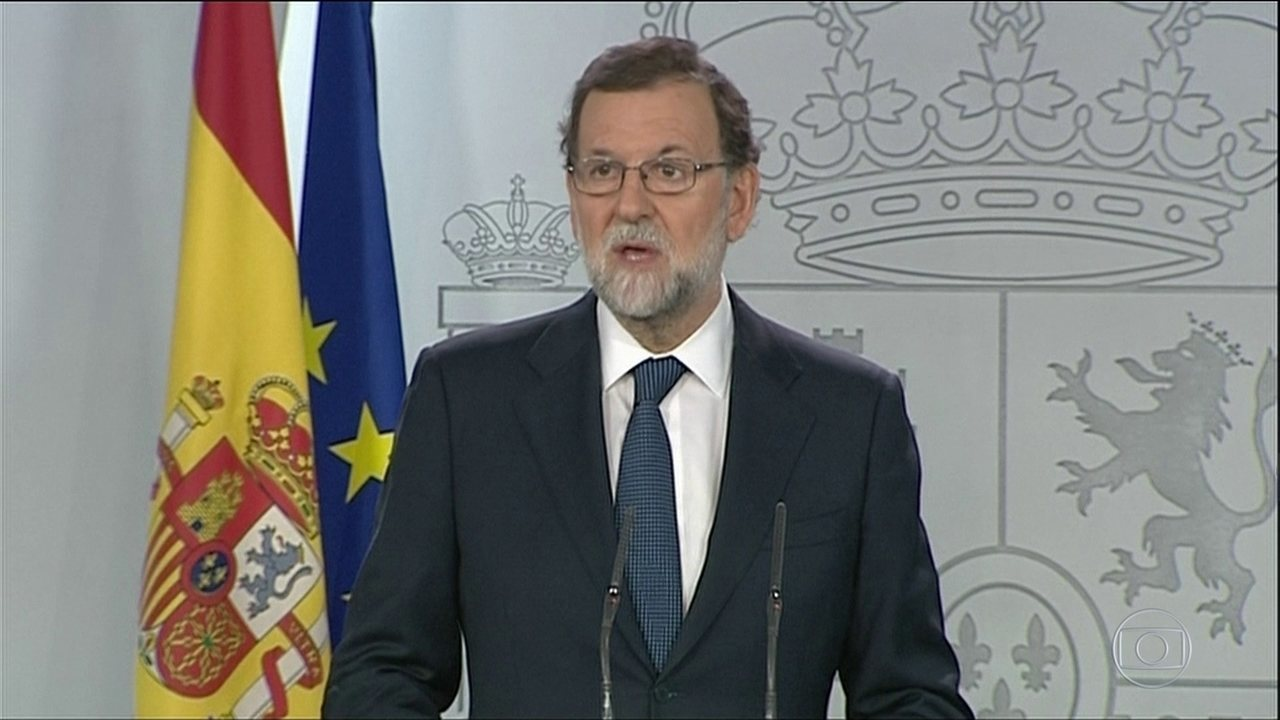 Espanha ameaça intervir na Catalunha