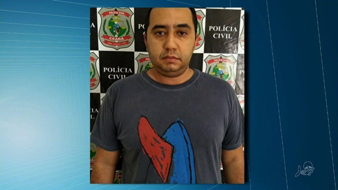 Polícia do Ceará prende suspeito de aplicar golpes em todo o Brasil