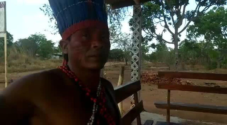 Indígenas cobram demarcação de terras localizadas a 11 km do Congresso Nacional
